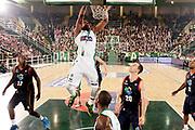 DESCRIZIONE : Avellino Lega A 2013-14 Sidigas Avellino Acea Virtus Roma<br /> GIOCATORE : Will Thomas<br /> CATEGORIA : schiacciata<br /> SQUADRA : Sidigas Avellino<br /> EVENTO : Campionato Lega A 2013-2014<br /> GARA : Sidigas Avellino Acea Virtus Roma<br /> DATA : 27/10/2013<br /> SPORT : Pallacanestro <br /> AUTORE : Agenzia Ciamillo-Castoria/A. De Lise<br /> Galleria : Lega Basket A 2013-2014  <br /> Fotonotizia : Avellino Lega A 2013-14 Sidigas Avellino Sidigas Avellino Acea Virtus Roma