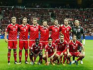 FOOTBALL: The danish team before the World Cup 2018 UEFA Qualifier Group E match between Denmark and Poland at Parken Stadium on September 1, 2017 in Copenhagen, Denmark. Photo by: Claus Birch / ClausBirch.dk.