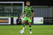 Forest Green Rovers Dominic Bernard(3) during the EFL Sky Bet League 2 match between Forest Green Rovers and Crewe Alexandra at the New Lawn, Forest Green, United Kingdom on 26 October 2019.