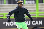 Forest Green Rovers Destiny Oladipo(9) during the FA Youth Cup match between U18 Forest Green Rovers and U18 Cheltenham Town at the New Lawn, Forest Green, United Kingdom on 29 October 2018.