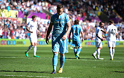 Marko Arnautovic of Stoke City looks decjected after missing a penalty. - Mandatory by-line: Alex James/JMP - 22/04/2017 - FOOTBALL - Liberty Stadium - Swansea, England - Swansea City v Stoke City - Premier League