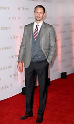 Alexander Skarsgard attending the world premiere of The Aftermath at the Picturehouse Central Cinema in London