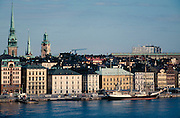 View towards Gamla Stan and Harbour.
