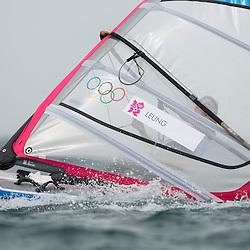 2012 Olympic Games London / Weymouth<br /> RSX man racing day 1 <br /> RS:X MenHKGLeung Ho Tsun