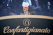 2013/06/11 Roma, assemblea annuale di Confartiginato. nella foto Giorgio Merletti.<br /> Rome, Confartigianato (reading National Confederation of Artisans). Nella foto Giorgio Merletti - &copy; PIERPAOLO SCAVUZZO