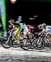03.08.2012, Kaprun, AUT, Bike Infection, XC BATTLE, im Bild Feature Start. EXPA Pictures © 2012, PhotoCredit: EXPA/ Juergen Feichter