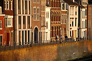 Nederland, Maastricht,26-3-2007..De maaskade aan de kant van Wijck, rechter maasoever..Foto: Flip Franssen/Hollandse Hoogte