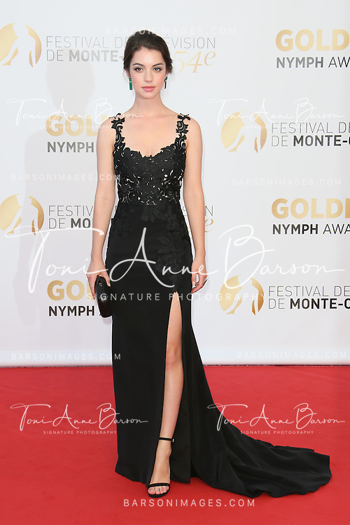 MONTE-CARLO, MONACO - JUNE 11:  Adelaide Kane attends the Closing Ceremony and Golden Nymph Awards of the 54th Monte Carlo TV Festival on June 11, 2014 in Monte-Carlo, Monaco.  (Photo by Tony Barson/FilmMagic)