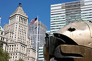 UNITED STATES-NEW YORK-Art 9/11. PHOTO: GERRIT DE HEUS.VERENIGDE STATEN-NEW YORK. Art 9/11. PHOTO GERRIT DE HEUS