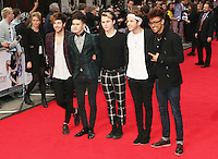 Jay Scott; Matt Cahill; Josh Ware; Joe Connor Conaboy; JJ Thompson; Kingsland Road, The Other Woman - UK Gala Screening, Curzon Mayfair, London UK, 02 April 2014, Photo by Richard Goldschmidt