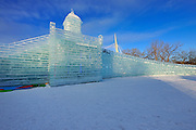 Ice sculpture. The Great Ice Show. January 2016.<br /> Winnipeg<br /> Manitoba<br /> Canada
