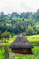 A hut of the Dorze tribe, Southern Nations Nationalities and People's Region, Ethiopia.