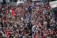 Arrivee au Stade Mayol Equipe Toulon et Trophee Champions Cup - 09.05.2015 - Toulon / Castres  - 24eme journee de Top 14 <br />Photo :  Alexandre Dimou / Icon Sport