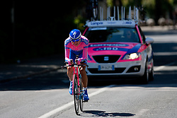 ANCONA Gomez of Lampre-ISD at chronometer (17,8km) of Tour de Slovenie 2012, on June 17 2012, in Ljubljana, Slovenia. (Photo by Matic Klansek Velej / Sportida.com)