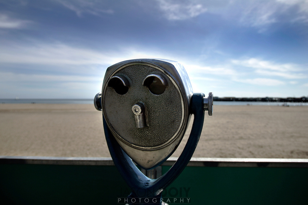 Santa Cruz Beach Boardwalk. .Photo by Jason Doiy.3-9-07