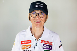 Darja Crnko, mother of Ilka Stuhec during presentation of new alpine ski team of Ilka Stuhec before new season 2019/20, on June 10, 2019 in Telekom Slovenije, Ljubljana, Slovenia. Photo by Vid Ponikvar / Sportida