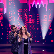 NLD/Baarn/20180410 - 2018 finale 'It Takes 2, Jorgen Raymann, Trijntje Oosterhuis