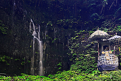 26.07.2014, Bali, IDN, Natur und Sehenswuerdigkeiten in Indonesien, im Bild kleiner Tempel am Git Git Wasserfall, Zentralbali, Bali, Indonesien. EXPA Pictures © 2014, PhotoCredit: EXPA/ Eibner-Pressefoto/ Schulz<br /> <br /> *****ATTENTION - OUT of GER*****