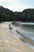in the beautiful island of ilha grande near rio de janeiro in brazil