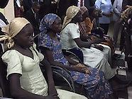 Nigeria - 21 Chibok School Girls Meet With Nigeria's Vice President In Abuja - 13 Oct 2016