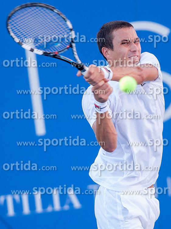 Evgeny Donskoy of Russia in quarterfinal during Day 5 of ATP Challenger Tilia Slovenia Open 2014 on July 11, 2014 in Tennis stadium SRC Marina, Portoroz / Portorose, Slovenia. Photo by Urban Urbanc / Sportida