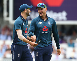 June 13, 2018 - London, England, United Kingdom - England's Jason Roy .during One Day International Series match between England and Australia at Kia Oval Ground, London, England on 13 June 2018. (Credit Image: © Kieran Galvin/NurPhoto via ZUMA Press)