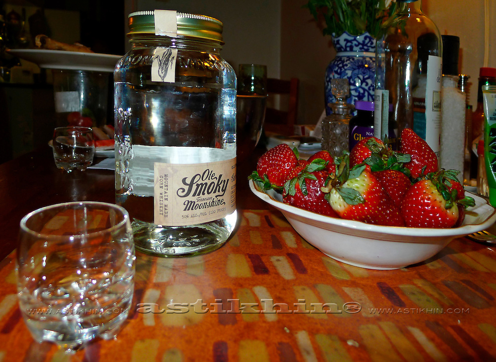 Ole Smoky Moonshine from Tennessee, USA.