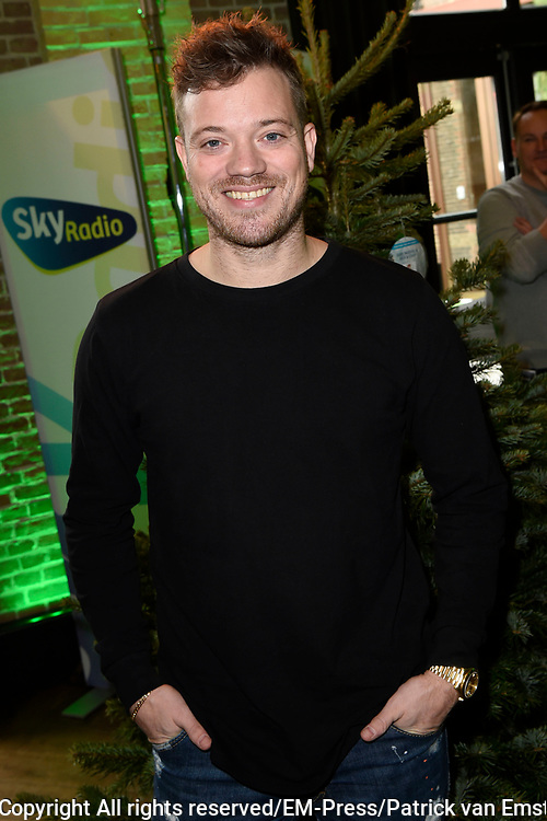 De 8e editie van Sky Radio&rsquo;s goede doelen-event Christmas Tree For Charity in The College Hotel, Amsterdam.<br /> <br /> Op de foto:  Gers Pardoel namens Villa Pardoes