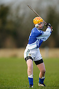All Ireland Schools Senior B Camogie Quarter Final at Dunganny, Meath, 30th January 2016.<br /> Dunshaughlin CC vs Mercy Roscommon<br /> Caoimhe Rooney in action for Dunshaughlin CC<br /> Photo: David Mullen /www.cyberimages.net / 2016