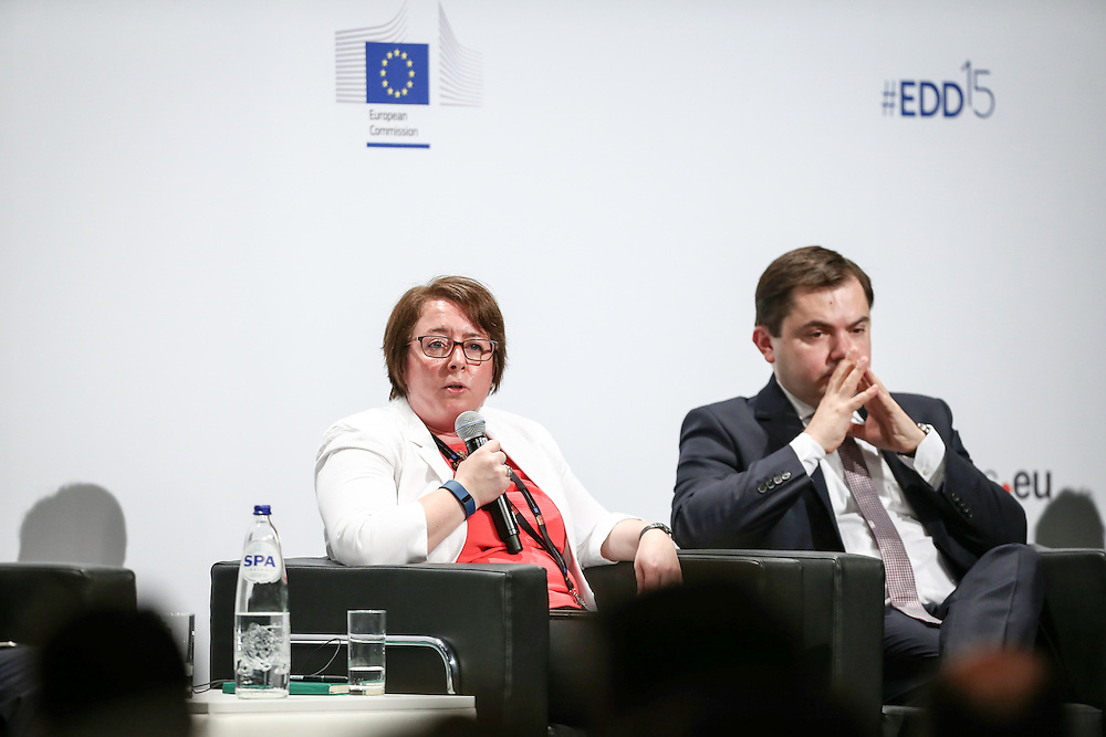 04 June 2015 - Belgium - Brussels - European Development Days - EDD - Citizenship - How can development cooperation effectively fight corruption and promote good governance? - Heather Marquette , Director of Research , Developmental Leadership Program , University of Birmingham © European Union