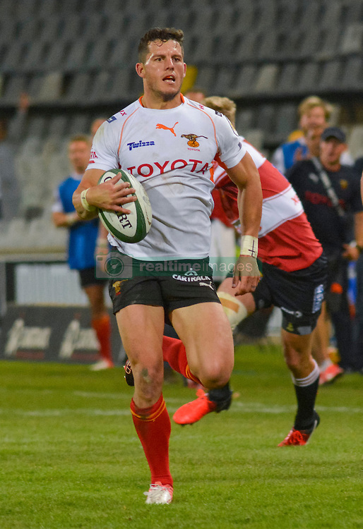 Shaun Venter of the Free State Cheetahs during the Currie Cup Premier division match between the The Free State Cheetahs and the Lions held at Toyota Stadium (Free State Stadium), Bloemfontein, South Africa on the 15th September 2016<br /> <br /> Photo by:   Frikkie Kapp / Real Time Images