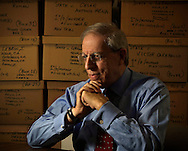 2-19-2009 AL DIAZ / THE MIAMI HERALD -- Prosecutor Abe Laeser is retiring after 35 years at the Miami-Dade State Attorney's Office. A legend in the legal community, he has sent dozens of murderers to death row and is one of the most feared prosecutors in the state. This is Laeser in his office.