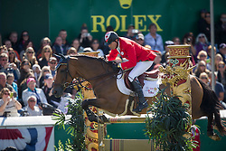 Millar Ian (CAN) - Dixson <br /> CP International Grand Prix presented by Rolex<br /> Spruce Meadows Masters - Calgary 2014<br /> © Dirk Caremans