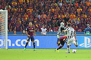 Claudio Marchisio of Juventus shoots during the Champions League Final between Juventus FC and FC Barcelona at the Olympiastadion, Berlin, Germany on 6 June 2015. Photo by Phil Duncan.
