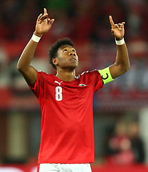 24.03.2017, Ernst Happel Stadion, Wien, AUT, FIFA WM 2018 Qualifikation, Oesterreich vs Moldawien, Gruppe D, im Bild David Alaba (AUT) // during the FIFA World Cup 2018, group D qualifying match between Austria and Moldova at the Ernst Happel Stadion in Wien, Austria on 2017/03/24. EXPA Pictures © 2017, PhotoCredit: EXPA/ Thomas Haumer