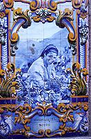 Portugal - Azulejos à Pinhao- Vallée du Douro