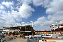 A General view of the Ashton Gate Redevelopment - Photo mandatory by-line: Dougie Allward/JMP - Mobile: 07966 386802 - 21/03/2015 - SPORT - Football - Bristol - Ashton Gate Stadium - Bristol Academy v FFC Frankfurt - UEFA Women's Champions League - Quarter Final - First Leg