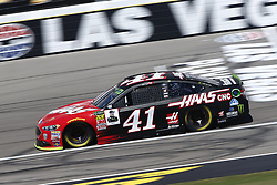 September 14, 2018 - Las Vegas, Nevada, United States of America - Kurt Busch (41) brings his race car down the front stretch during practice for the South Point 400 at Las Vegas Motor Speedway in Las Vegas, Nevada. (Credit Image: © Chris Owens Asp Inc/ASP via ZUMA Wire)
