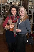 ENOTRIA CRESCENZI; DEBRA BARKER, Eva Harold birthday party. Ballroom, Beach Blanket Babylon. Notting Hill, London. 19 November 2012.