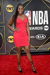 Kalani Brown attends the 2019 NBA Awards at Barker Hangar on June 24, 2019 in Santa Monica, CA, USA. Photo by Lionel Hahn/ABACAPRESS.COM