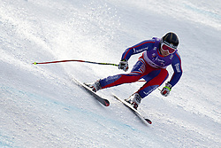 12.02.2011, Kandahar, Garmisch Partenkirchen, GER, FIS Alpin Ski WM 2011, GAP, Herren Abfahrt, im Bild TJ Baldwin (GBR) lands a jump competing in the men's downhill race on the Kandahar race piste at the 2011 Alpine skiing World Championships, EXPA Pictures © 2010, PhotoCredit: EXPA/ M. Gunn