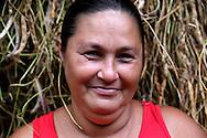 Woman near La Maquina, Guantanamo, Guantanamo, Cuba.