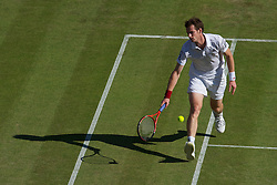 LONDON, ENGLAND - Tuesday, June 22, 2010: Andy Murray (GBR) during the Gentlemen's Singles 1st Round on day two of the Wimbledon Lawn Tennis Championships at the All England Lawn Tennis and Croquet Club. (Pic by David Rawcliffe/Propaganda)