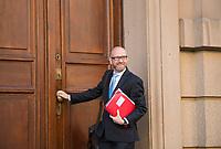 DEU, Deutschland, Germany, Berlin, 30.10.2017: CDU-Generalsekretär Dr. Peter Tauber vor den Sondierungsgesprächen zwischen CDU/CSU, FDP und Bündnis 90/Die Grünen in der Deutschen Parlamentarischen Gesellschaft.