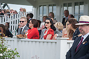 KENNETH BRANAGH; LINDSAY BRANAGH;  DITA VON TEESE; , Cartier Queen's Cup. Guards Polo Club, Windsor Great Park. 17 June 2012