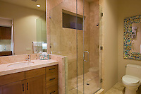 Bathroom in modern residence