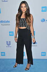 Shay Mitchell arrives at We Day California 2017 held at The Forum in Inglewood, CA on Thursday, April 27, 2017. (Photo By Sthanlee B. Mirador) *** Please Use Credit from Credit Field ***