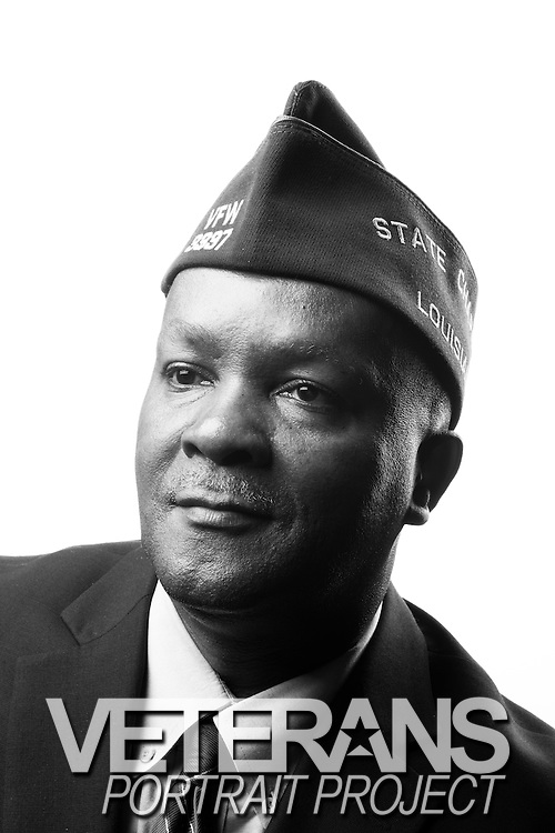 Elvin Ray Bass<br /> SGT (E-5)<br /> Communications<br /> 1977-1983<br /> Korea<br /> <br /> Veterans Portrait Project<br /> Louisville, KY<br /> VFW Convention <br /> (Photos by Stacy L. Pearsall)