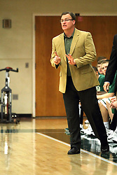 25 November 2014:  Ron Rose during an NCAA mens division 3 CCIW basketball game between the Milwaukee School of Engineering Raiders and the Illinois Wesleyan Titans in Shirk Center, Bloomington IL