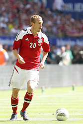 26.05.2012, Imtech Arena, Hamburg, GER, UEFA EURO 2012, Testspiel, Daenemark vs Brasilien, im Bild Thomas KAHLENBERG (DAN) // during the Preparation Game for the UEFA Euro 2012 betweeen Danmakr and Brasil at the Imtech Arena, Hamburg, Germany on 2012/05/26. EXPA Pictures © 2012, PhotoCredit: EXPA/ Eibner/ Andre Latendorf..***** ATTENTION - OUT OF GER *****